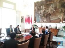 Ketemu Jokowi, Bos 'Bank Dunia' China Gelontorkan Rp 14,5 T