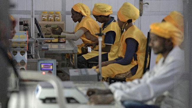 Saat China Pekerjakan Jutaan Orang Afrika