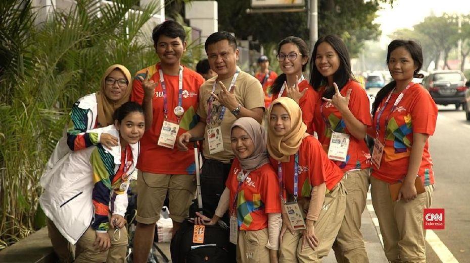 Euforia Asian Games 2018, Pembakar Semangat Atikah