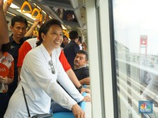 Menteri Rini Tak Mau LRT Jabodebek Mogok Seperti Palembang