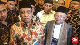 Said Aqil Siratkan Kembali Dukungan NU untuk Jokowi-Ma'ruf