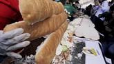 Jika segigit rasanya belum cukup, maka warga Meksiko menghadirkan sandwich raksasa di negaranya.(REUTERS/Henry Romero)