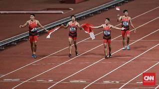 Rahasia Sukses Zohri Cs Raih Perak Estafet di Asian Games