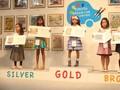 Anak SD Asal Surabaya Raih Emas Lomba Gambar Mobil di Jepang