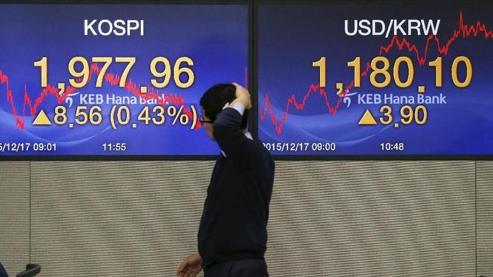 Efek Ketidakjelasan AS-China, Bursa Korsel Melemah 0,21%