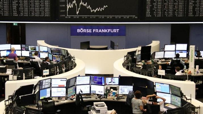 Perang Dagang Mereda, Bursa Eropa Melesat di Awal Perdagangan