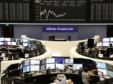 Banyak Tekanan, Bursa Eropa Dibuka Naik Tipis