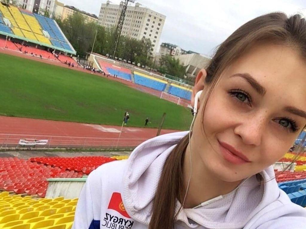Tersihir Pesona Anna, Atlet Lompat Jauh Asian Games yang Bermata Indah
