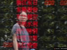 Korban Tewas Corona 1.300 Lebih, Bursa Asia Merah Padam