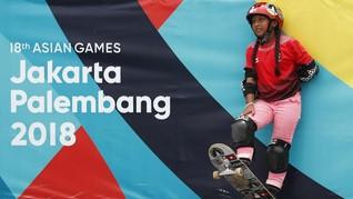 Aliqqa, Atlet Termuda Asian Games yang Doyan Es Krim