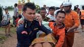 Insiden ini menambah kekhawatiran publik akan keamanan bendungan di negara-negara Asia Tenggara. (AFP Photo/Thet Aung)
