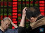 Terbeban Rilis Data Ekonomi, Bursa Saham China Akhirnya Jatuh