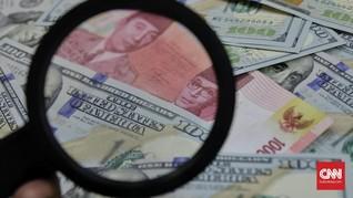 Rupiah 'Lesu' Usai IMF Pangkas Proyeksi Pertumbuhan Indonesia