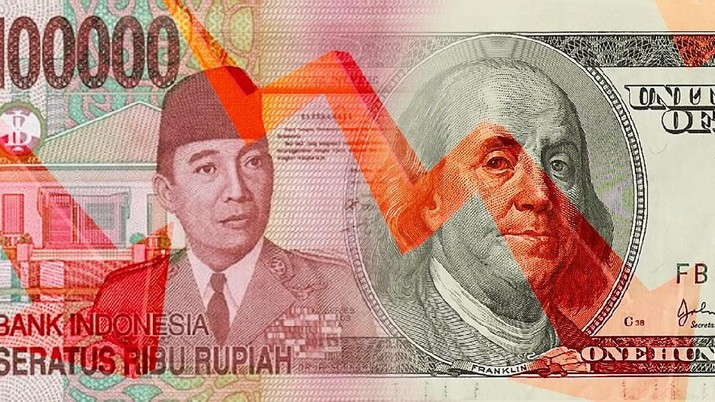 Depresiasi rupiah semakin dalam kala mata uang Asia justru membaik.