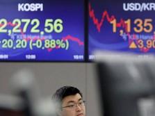 Sentimen Negatif Menghantui, Bursa Saham Asia Melemah
