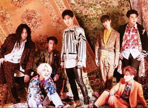 Gaya Terkini Super Junior yang akan Tampil di Penutupan Asian Games 2018