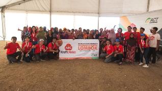 ABC Salurkan Paket Bantuan untuk Korban Gempa di Lombok
