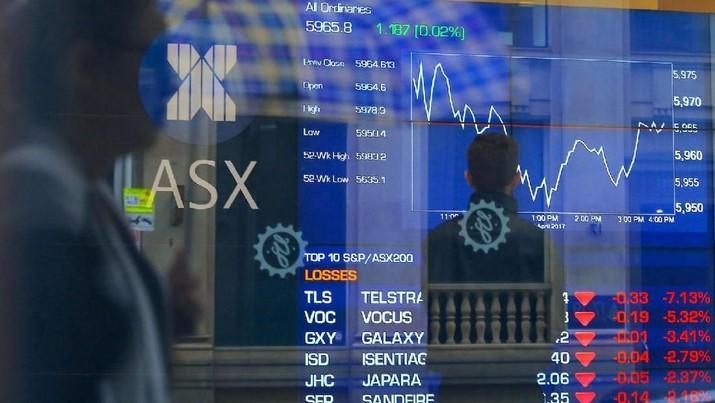 Bursa Australia & Korsel Was-was Pasca-Aksi Jual Wall Street