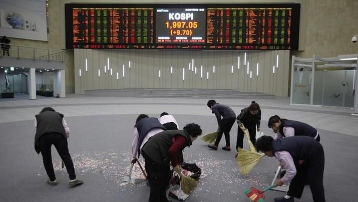 Perang Dagang Masih Bisa Tereskalasi, Bursa Saham Asia Loyo