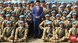 Jokowi Sebut Dirinya Avengers Hadapi 'Infinity War'