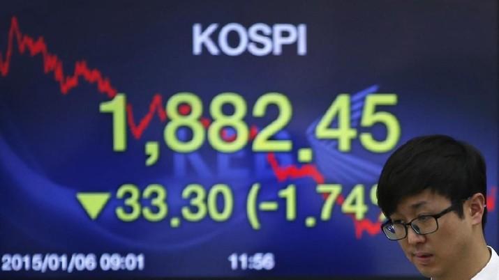 Yield Obligasi AS Cetak Rekor, Bursa Korsel Koreksi 0,37%
