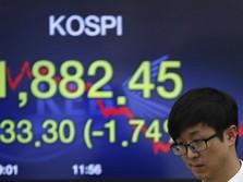 Sentimen Negatif Mendominasi, Bursa Saham Asia Terkoreksi