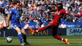 Kalahkan Leicester, Liverpool Kukuh di Puncak Klasemen