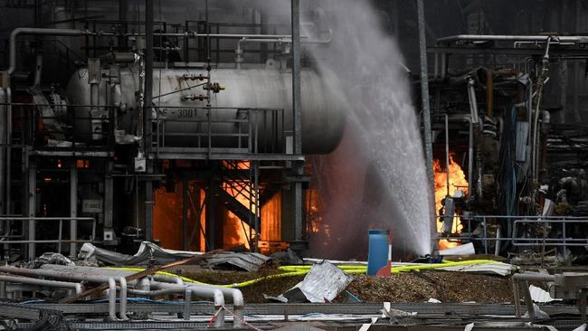 Kebakaran Kilang Pertamina di Balikpapan Berhasil Dipadamkan