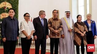 Jokowi Sebut Indonesia Siap Jadi Tuan Rumah Olimpiade 2032