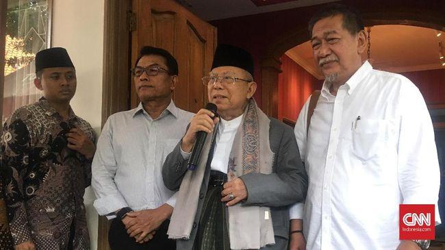 Ma'ruf Amin Ungkap Sebab Sistem Khilafah Ditolak di Indonesia