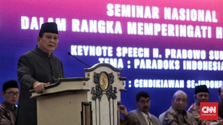 Prabowo Bandingkan Pemerintahan Jokowi dengan China