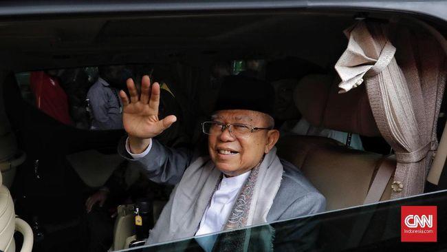 Batal Bersua Sandi di Monas, Ma'ruf Mengaku Punya Acara Lain