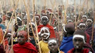 Upacara Kedewasaan Unik Suku Masaai di Kenya