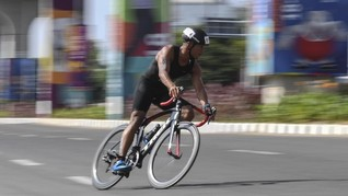 Andi Gumilang, TNI Jadi Atlet Triatlon Asian Games 2018