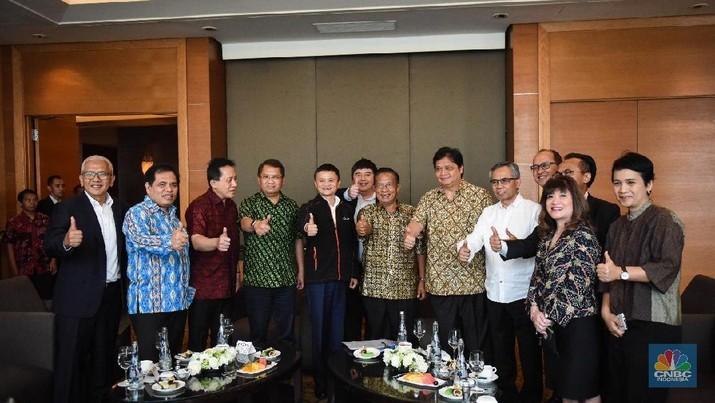 Jack Ma Beri Wejangan Buat Darmin Cs dan Kadin