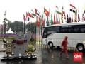 GBK Diguyur Hujan Jelang Upacara Penutupan Asian Games 2018