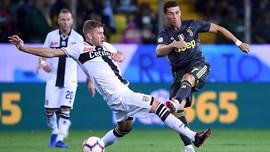 Ronaldo Gagal Cetak Gol, Juventus Tetap Menang atas Parma