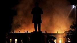 Museum Nasional Rio de Jainero Habis Dilalap Api