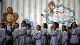 Sekjen PBB Antonio Guterres mengatakan bahwa lembaga itu tetap berkeyakinan penuh dan meminta negara-negara lain menutupi dana yang ditarik Amerika sehingga UNRWA bisa terus memberikan bantuan. (REUTERS/Mohammed Salem)