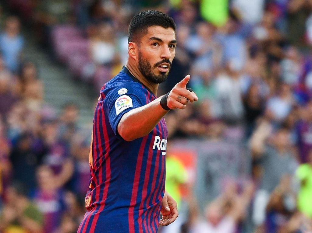 Luis Suarez (Barcelona/Uruguay) dengan rating 91. (Foto: David Ramos/Getty Images)