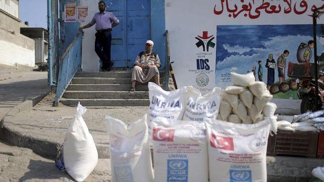 AS Berhenti Sumbang Palestina, PBB Khawatir Bantuan Tersendat