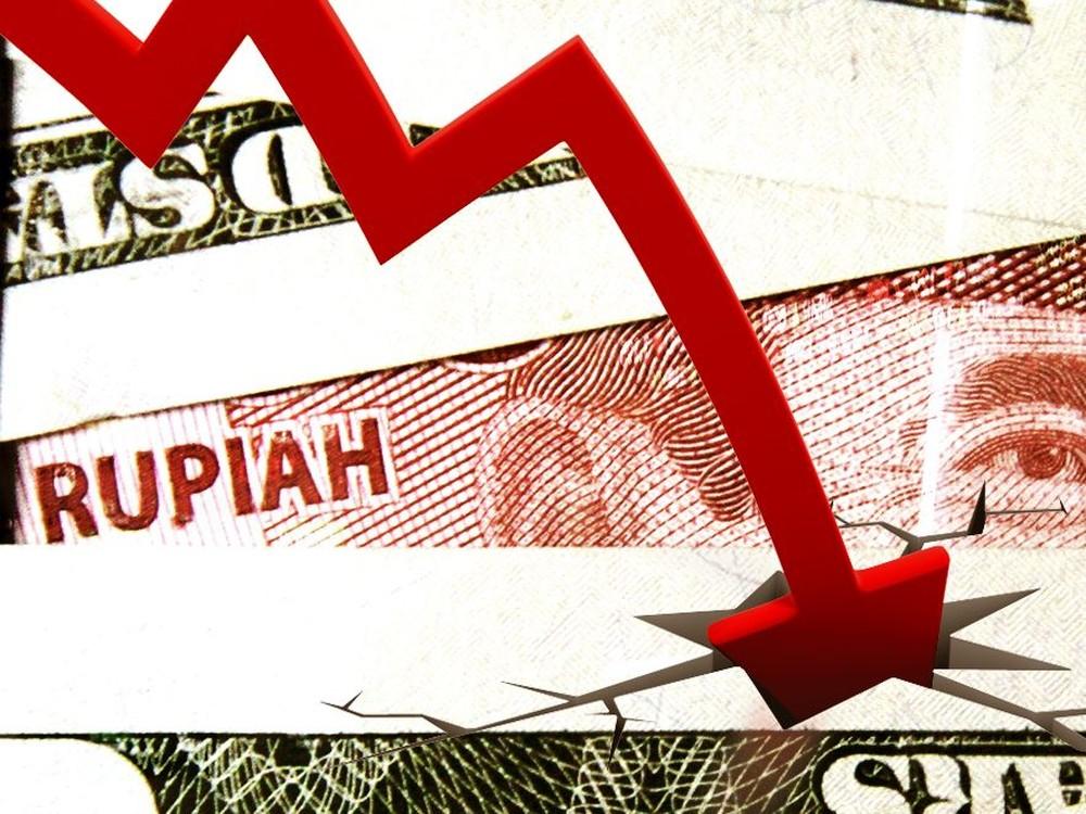 Rupiah Makin Lemah ke Level Rp 14.900/US$