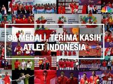 Terima Kasih Para Pejuang Asian Games 2018!