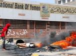 Warga Protes Pelemahan Mata Uang Yaman, Aden Lumpuh