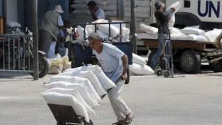 Bantuan Dipangkas, Palestina Terancam Krisis Ekonomi
