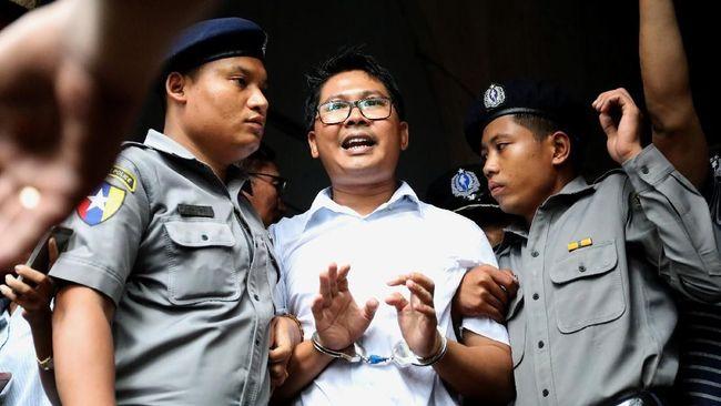 Myanmar Tolak Banding Dua Jurnalis Reuters
