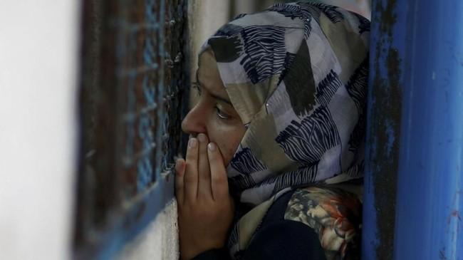 Juru Bicara UNRWA Chris Gunnes mengatakan badan itu akan mencoba menutup kekurangan dana sebesar US$217 juta. (REUTERS/Mohammed Salem)