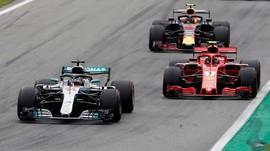 Daftar Klasemen F1 2018 Usai Hamilton Juara GP Italia