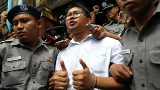 Dua Wartawan Peliput Rohingya Divonis Tujuh Tahun Penjara