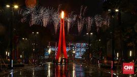 FOTO: Ingar-bingar Penutupan Pesta Olahraga Asian Games 2018